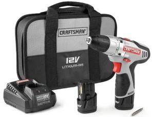 Craftsman NEXTEC 12Volt lithium-ion drill combo