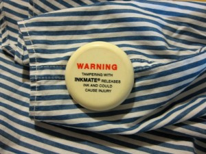 Security tag - front